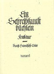 Harnisch-Trier, Ruth  Ein Schreibkunstbüchlein (Fraktur)