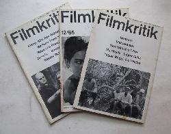 diverse Autoren:  62 Hefte FILMKRITIK (1959-1982) (EINZELHEFTE bitte anfragen, Mindestabnahme 3 Hefte, Stück 4 €)  66 Hefte