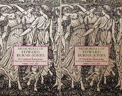 Burne-Jones, Georgiana  Memorials of Edward Burne-Jones (Vol. I - 1833-1867; Vol. II - 1868-1898)