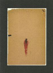 Bohrmann, Karl  Rote Figur. Hundert Zeichnungen. Mit Notizen des Künstlers