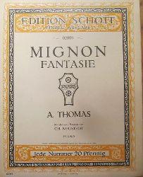 Thomas, A. (Ambroise) (1811-1896)  Mignon (Fantasie) (mittelschwere Fantasie von Ch. Neustedt Op. 71, Piano)