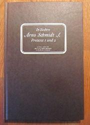 Reemtsma, Jan Philipp [Hrsg.]  In Sachen Arno Schmidt ./. (Prozesse 1 & 2)