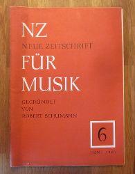 Hartmann, Karl Amadeus und Ernst Thomas  NZ / Neue Zeitschrift für Musik Nr. 6/1961
