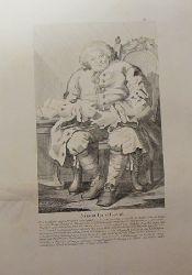 "Hogarth, William  Lithographie ""Simon Lord Lovat"""