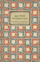 Sachs, Hans  Vier Fastnachtsspiele (Der Teufel mit dem alten Weib. Der gestohlen Fastnachthohn. Das Heiß Eisen. Der Krämerskorb)