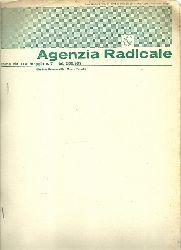 Pannella, Marco und (Segretario del Partito Radicale)  Agenzia Radicale N. 7