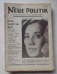 Schenke, Wolf (Hg.)  NEUE POLITIK 13. Jg. Nr. 50 (Unabhängige Wochenschrift)