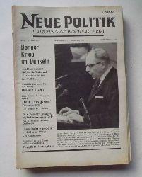 Schenke, Wolf (Hg.)  NEUE POLITIK 13. Jg. Nr. 49 (Unabhängige Wochenschrift)
