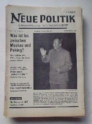 Schenke, Wolf (Hg.)  NEUE POLITIK 14. Jg. Nr. 12 (Unabhängige Wochenschrift)