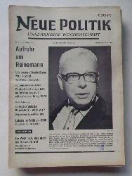 Schenke, Wolf (Hg.)  NEUE POLITIK 14. Jg. Nr. 11 (Unabhängige Wochenschrift)