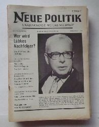 Schenke, Wolf (Hg.)  NEUE POLITIK 13. Jg. Nr. 47 (Unabhängige Wochenschrift)