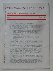 Vietnam International Vol. 11, No. 7 (An emergency project of the International Confederation for Disarmament and Peace)
