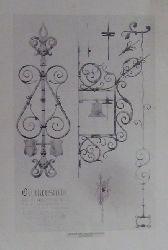 """Bosch, H.  1 Blatt Architekturzeitung """"Glockenstübl aus der Bodenseeregion"""""""