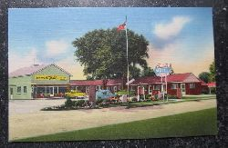 "Ansichtskarte ""Tecumseh Motel"" (Home of Chief Tecumseh)"