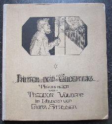 Volbehr, Theodor:  Hinter dem Erdentag (Träumereien von Theodor Volbehr)  1. Auflage