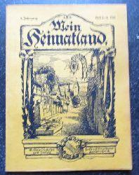 Wingenroth, Max (Hg.)  Mein Heimatland, Heft 1-2, 1916 (Badische Blätter für Volkskunde, ländliche Wohlfahrtspflege, Heimat- und Denkmalschutz)
