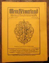 Wingenroth, Max (Hg.)  Mein Heimatland, Heft 7, 1926 (Badische Blätter für Volkskunde, ländliche Wohlfahrtspflege, Heimat- und Denkmalschutz)
