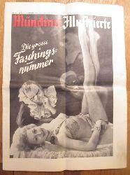 diverse Autoren  Münchner Illustrierte Nr. 6 v. 7. Februar 1953 (Die grosse Faschingsnummer)