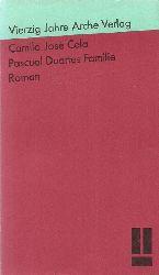 Cela, Camilo Jose:  Pascual Duartes Familie (Roman)  1. dt. Ausgabe