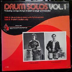 Montalvo, Eddie und Charlie Santiago  Drum Solos Vol. 1 (LP)