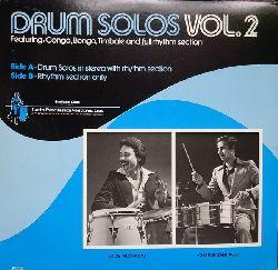 Montalvo, Eddie und Charlie Santiago  Drum Solos Vol. 2 (LP)