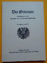 Historischer Verein Mittelbaden (Hg.)  Die Ortenau 51. Jahresband 1971 (Veröffentlichungen des Historischen Vereins für Mittelbaden)