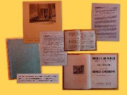 Schönberg, Arnold  Von Heute auf Morgen (Oper in einem Akt von Max Blonda; Musik Arnold Schönberg; Klavierauszug (= Op. 32 hier nicht genannt)