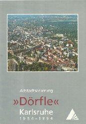 "Stadt Karlsruhe  Altstadtsanierung ""Dörfle"" Karlsruhe 1954-1994"