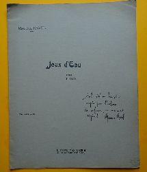 Ravel, Maurice  Jeux d`Eau (Pour Piano)