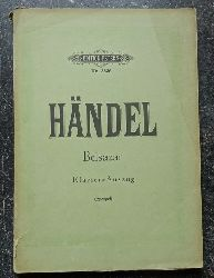 Händel, Georg Friedrich:  Belsazar. Klavier-Auszug (Oratorium bearb. v. Julius Spengel)