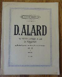 Alard, D. (Jean-Delphin)  24 Etüden-Capricen in den 24 Tonleitern / 24 Etudes-Caprices dans les 24 Tons de la Gamme Opus 41 Heft 1+2 (E. Kross) Violine