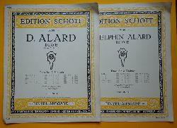 Alard, D. (Jean-Delphin)  Duo E (Duos für 2 Violinen; Violine I + II, Neu-Ausgabe vpn H. Dessauer)
