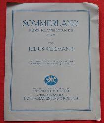 Weismann, Julius  Sommerland Opus 32 (Fünf Klavierstücke - Allegretto)