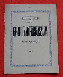 Fux, Johann Joseph:  Gradus ad Parnassum (Etüden für Violine Heft V: IV. Lage (Wechsel zwischen I. und IV. Lage), V. Lage (Wechsel zwischen I. und V. Lage)