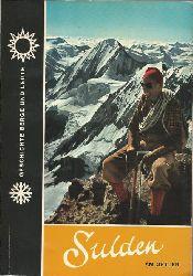 Hurton, Josef Dr.  Sulden am Ortler (Geschichte, Land, Leute und Berge)
