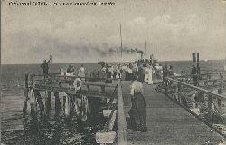 ohne Autor  Ansichtskarte Ostseebad Müritz i.M. (Brückenkopf mit Dampfer)