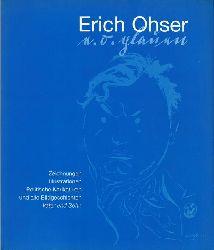 """Erich Ohser / E.O. Plauen - Zeichnungen, Illustrationen, Politische Karikaturen und alle Bildgeschichten """"Vater und Sohn"""" (Katalogbuch Wilhelm-Busch Museum Hannover 22.9 - 10.12.2000 u.a.)"""