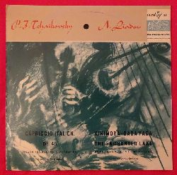 "Liadov, Anatole; und P.I. Tchaikovsky:  Kikimora / Baba Yaga / The Enchanted Lake (Prague Symphony Orchestra) --- Capriccio Italien Op. 45 (Czech Philharmonic Orchestra) (Conductor Vaclav Smetacek + Karel Sejna)  LP 10"""