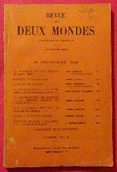 Buloz, Francois (Fondateur)  Revue des Deux Mondes 15 Decembre 1942