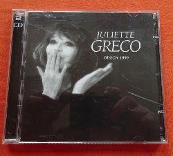 Greco, Juliette:  Odeon 1999 (2CD)
