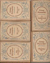 Anzengruber, Ludwig  Ludwig Anzengrubers ausgewählte Werke in fünf (5) Bänden