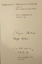 Becker, Jürgen und Rango (Collagen) Bohne  Scheunen im Gelände (Gedichte)