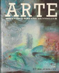 """Cruz de Amenabar, Isabel  ARTE (Historia de la """"Pintura y Escultura en Chile"""" desde la Colonia al S. XX)"""
