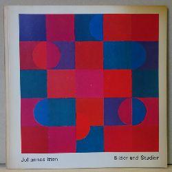 Itten, Johannes:  Bilder und Studien (Katalog der Ausstellung im Kunstverein Ulm vom 30.5.-4.7.1976)  1. Auflage