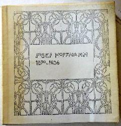 Hoffmann, Josef - Günther, Sonja:  Josef Hoffmann 1870-1956 1. Ausgabe