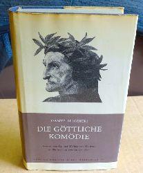 Dante, (Dante Alighieri):  Die Göttliche Komödie (Ins Deutsche übertragen und kommentiert von Ida und Walther Wartburg)  1. Auflage