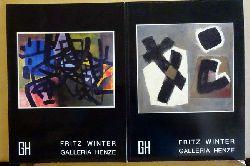 Winter, Fritz  2 Titel / 1. Fritz Winter (Katalog Nr. 38 Galleria Henze)