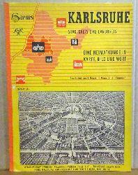 Kögel, B. und H. Meny  Karlsruhe (Stadtkreis und Landkreis. Eine Heimatkunde in Karte, Bild und Wort)