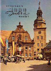 Stadtverwaltung  Ettlingen (1000 (Tausend) Jahre Markt