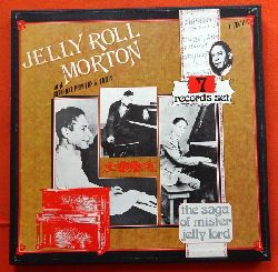 Morton, Jelly Roll; and Red Hot Peppers & Trios:  The Saga of Mister Jelly Lord (7 records set)  7LP